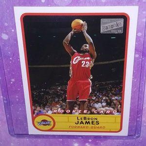 03-04 Topps Bazooka LeBron James Rookie card #223